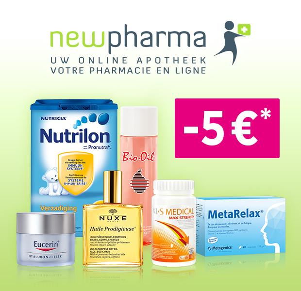 Votre code promo New Pharma - myShopi