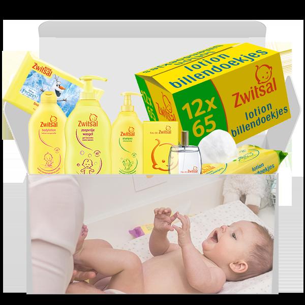Jouw Zwitsal Baby Box voor slechts €43,99 i.p.v. €66,95