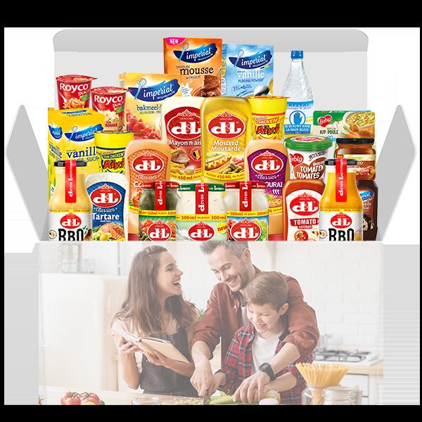 Jouw 'Aan tafel' Keuken Box voor slechts € 36,99 i.p.v. € 52,84