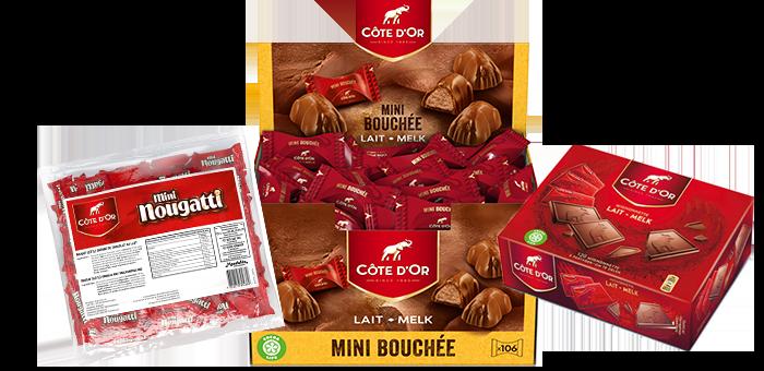 """Jouw """"Côte d'Or chocolade box"""" voor €47,90 i.p.v. € 66,30"""