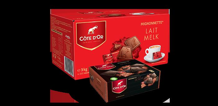 """Jouw """"Côte d'Or Mignonnette box"""" voor €39,95 i.p.v. €74"""