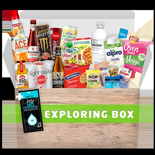 """Jouw """"Exploring box"""" voor € 14,95!"""