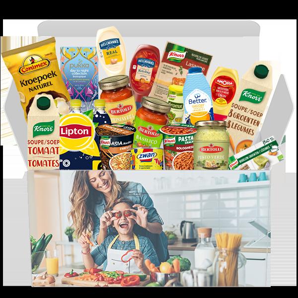 Jouw Keuken Box met topmerken voor slechts €37,99 i.p.v. €55,39