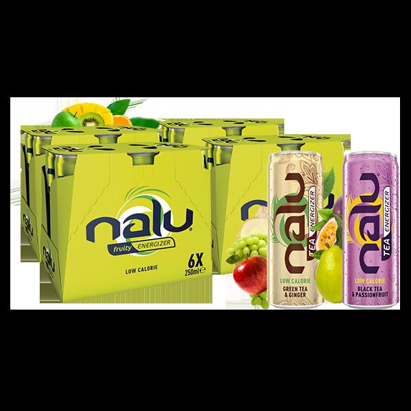 """Votre """"boîte énergisante Nalu"""" pour 21,95 € au lieu de 28,96 €"""