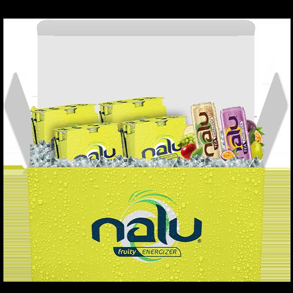 "Jouw ""Nalu Energy Box"" voor € 21,95 i.p.v. € 28,96"
