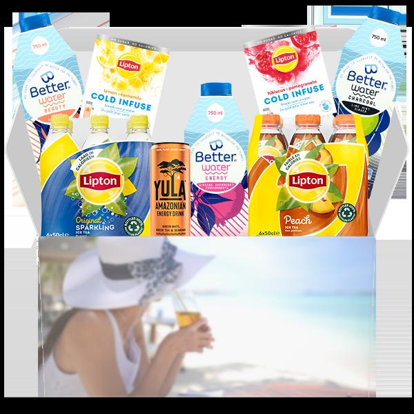 "Jouw ""Summer Refreshing Box"" voor € 24,95 i.p.v. € 33,45"